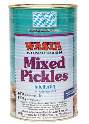 Mixed Pickles 5 l